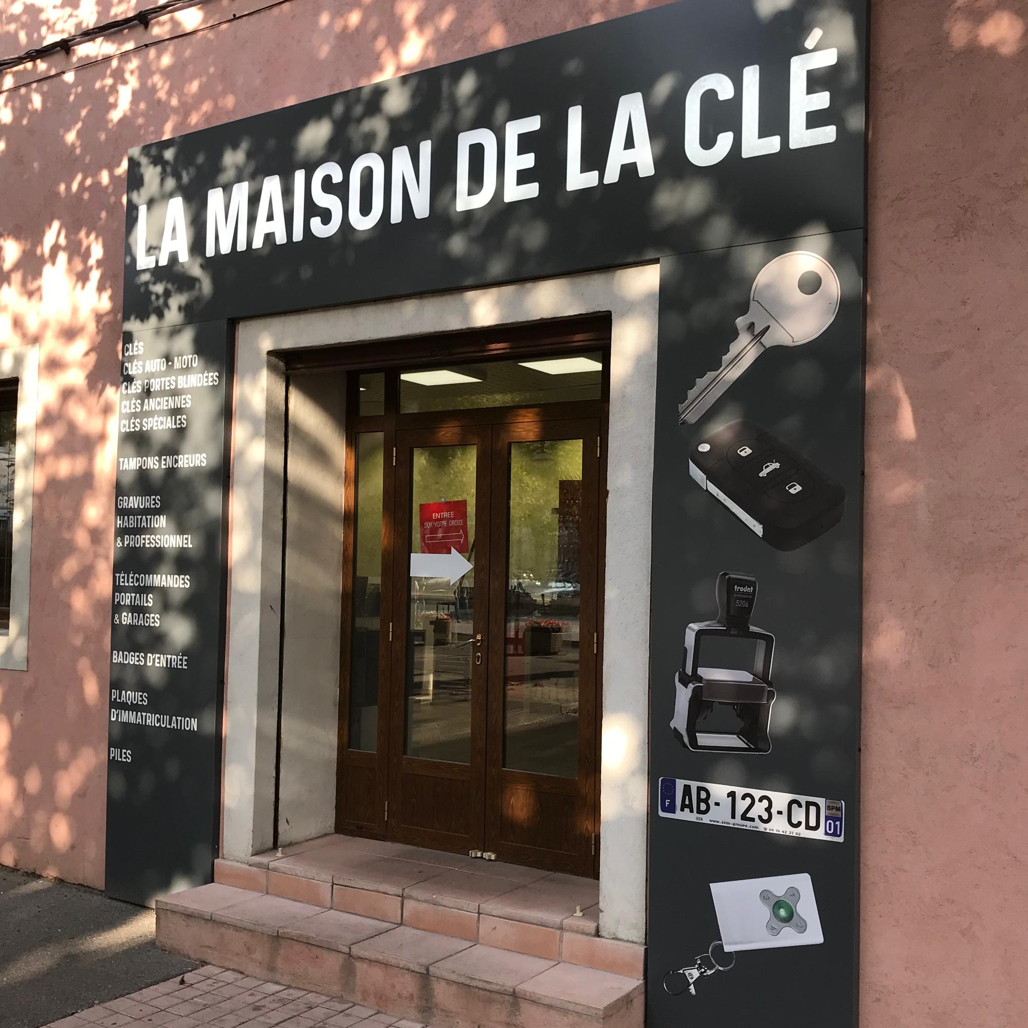 Maison de la Clé - Magasin Bouches du Rhône Plaque Immatriculation